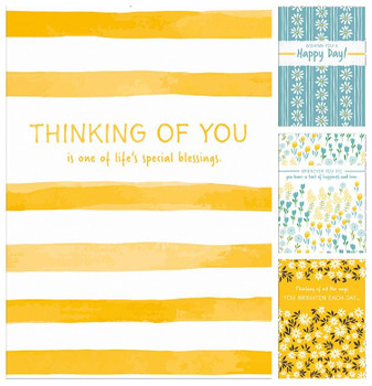 KJV Boxed Cards - Thinking of You, Cheerful Thoughts