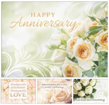 KJV Boxed Cards - Anniversary, Love Worth Celebrating
