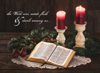 KJV Boxed Cards - Christmas, His Word by Heartwarming Thought