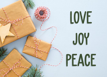 KJV Boxed Cards - Christmas, Joy of Giving by Heartwarming Thought