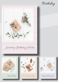 KJV Boxed Cards - Birthday, Gifts of Love II by Heartwarming Thought
