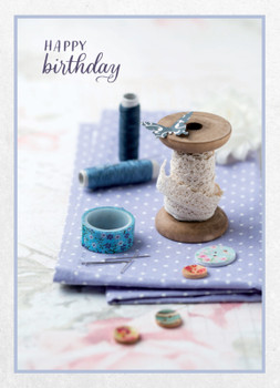 KJV Boxed Cards - Birthday, Sewn Together by Heartwarming Thought