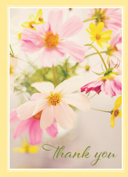 KJV Boxed Cards -Thank You, Wildflowers by Heartwarming Thoughts