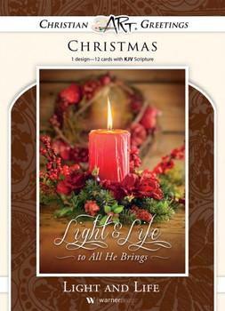 KJV Boxed Cards - Christmas, Life and Light