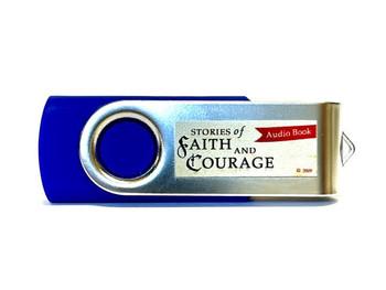 Stories of Faith & Courage Vol 1, 2, 3,  & 4 - Audio MP3 Flash