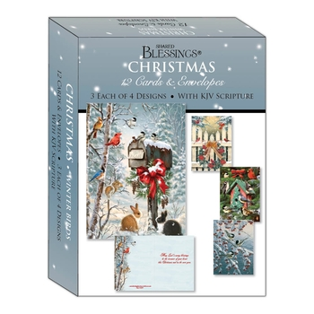 KJV Boxed Cards - Winter Birds by Shared Blessings