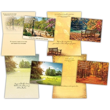 KJV Boxed Cards - Thinking of You, Pathways by Shared Blessings