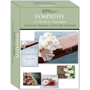 KJV Boxed Cards - Sympathy Bouquets by Shared Blessings