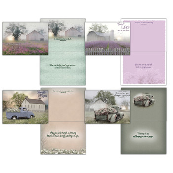KJV Boxed Cards - Praying for You, Quiet Places by Shared Blessings