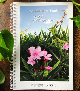 Weekly Planner 2022 Calendar with KJV Scripture