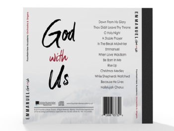 Emmanuel God With Us CD by Fountainview Strings & Choir