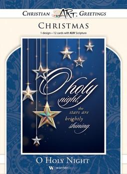KJV Boxed Cards - Christmas, O Holy Night (Luke 2:11)