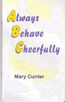 Always Behave Cheerfully - Book