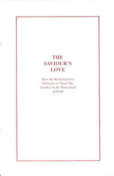 The Saviour's Love - Book