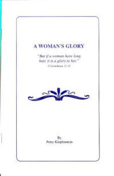 A Woman's Glory - Book