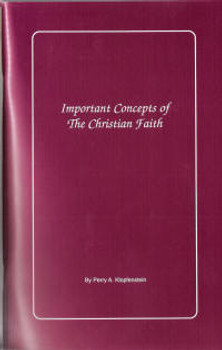 Important Concepts of the Christian Faith - Book