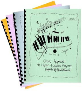 The Chord Approach to Hymn Focused Playing Set - Book