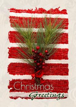 """Christmas Greetings - 5"""" x 7"""" KJV Greeting Card"""