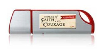 Stories of Faith & Courage Vol 1, 2, & 3 - Audio MP3 Flash