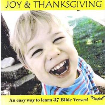 Joy & Thanksgiving CD by Heartsong Singables