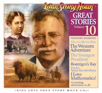 Great Stories Vol 10 Audio CDs by Your Story Hour