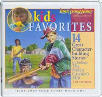 Kid's Favorites Audio CD Set by Your Story Hour