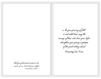 "Be True Encouragement Card - 5"" x 7"" KJV Greeting Card"