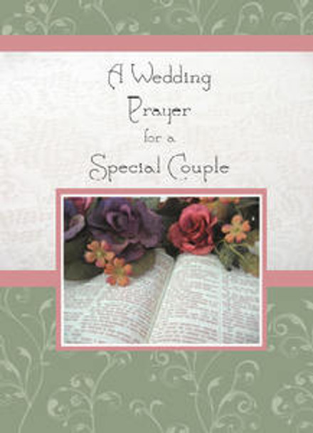 "A Wedding Prayer for a Special Couple - 5"" x 7"" KJV Greeting Card"