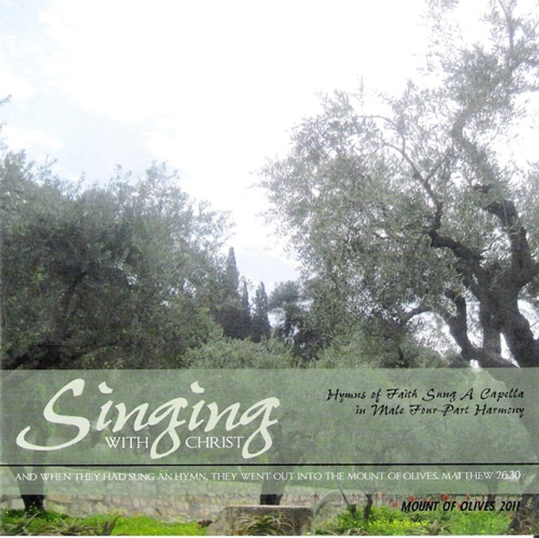 Singing With Christ CD by Apostolic Christian Men's Sing