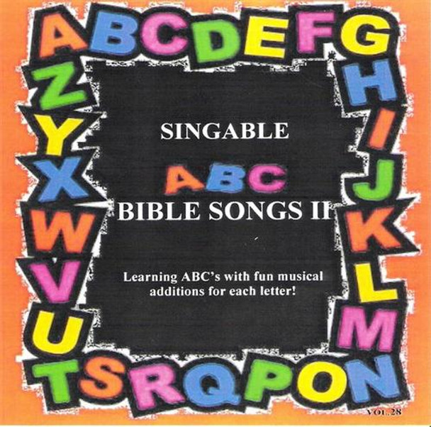 Singable ABC Bible Songs, Vol 2 CD by Heartsong Singables