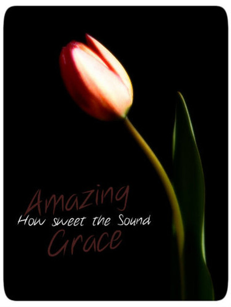 Amazing Grace - 5 Blank Notecards