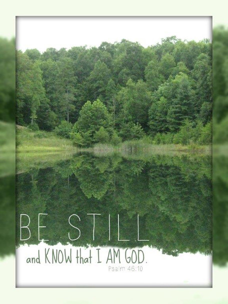 Be Still (Lake) - 5 Blank Notecards