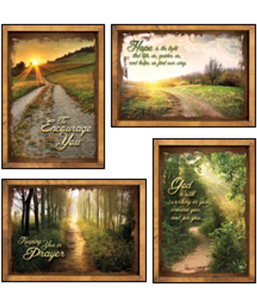 KJV Boxed Cards - Encouragement, Peaceful Pathways