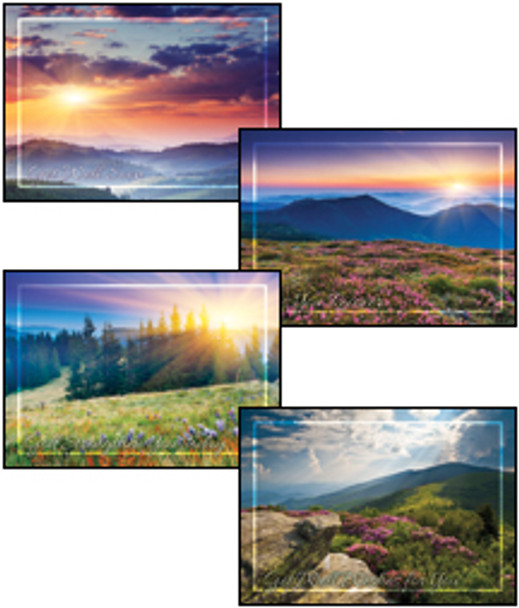 KJV Boxed Cards - Get Well, Peaceful Meadows