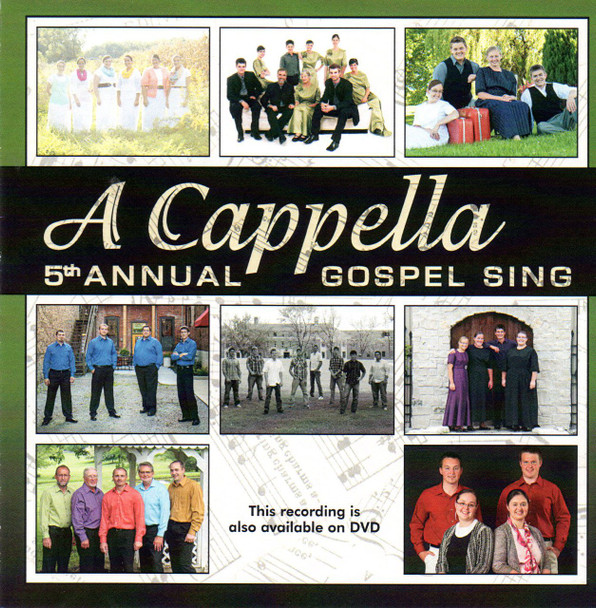 A Cappella 5th Annual Gospel Sing CD