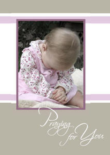 "Praying for You -5"" x 7"" KJV Greeting Card"