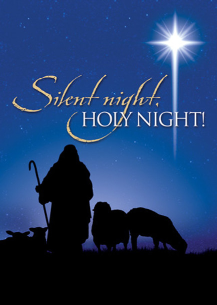 KJV Boxed Cards - Christmas, Silent Night Holy Night