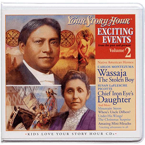 Exciting Events Vol 2 Audio CDs by Your Story Hour