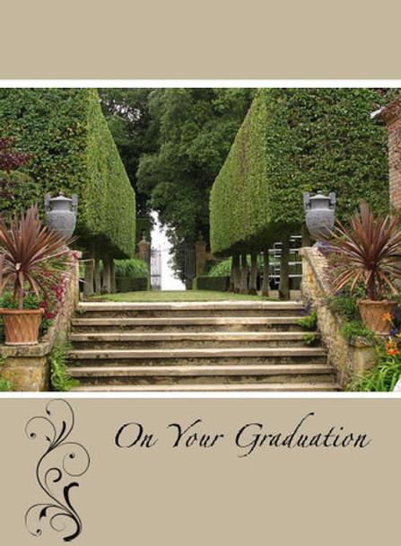 "On your Graduation - 5"" x 7"" KJV Greeting Card"