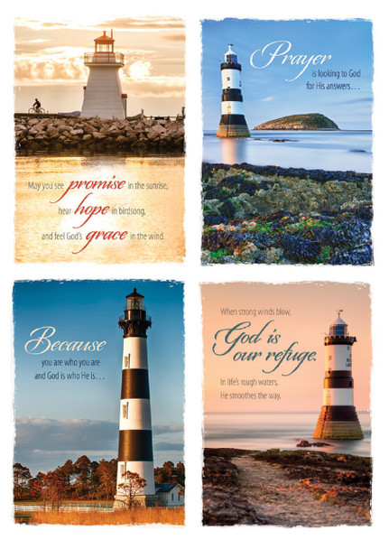 KJV Boxed Cards - Praying for You, Beacon of Hope