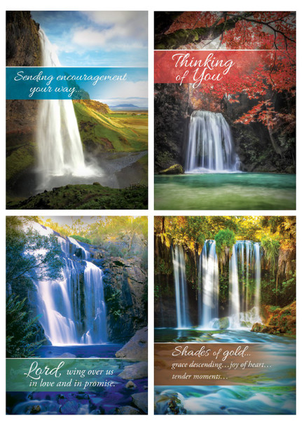 KJV Boxed Cards - All Occasion, Living Waters