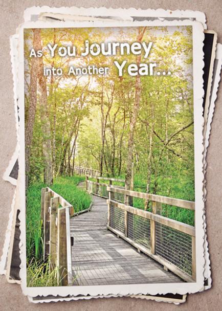 KJV Boxed Cards - Birthday, Along God's Path