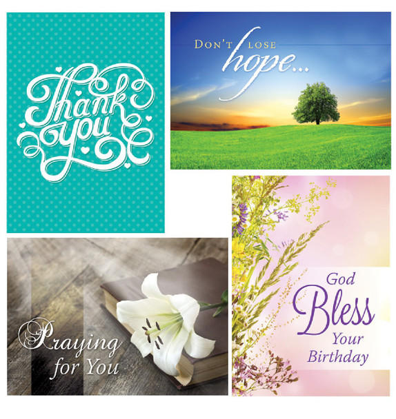 KJV Boxed Cards - All Occasion, Faithful Moments
