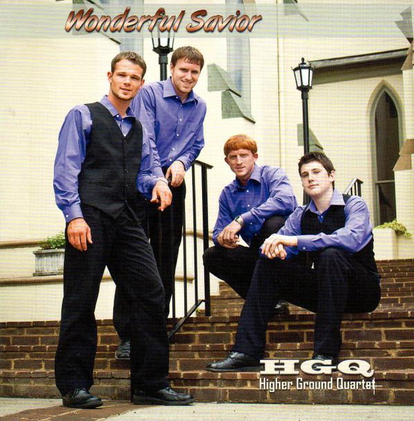 Wonderful Savior CD by Higher Ground Quartet