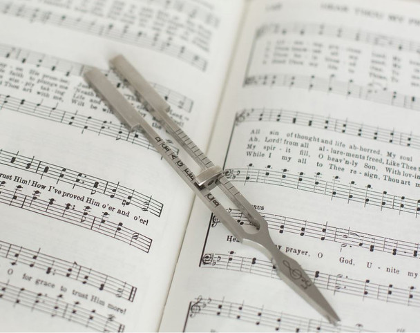 Adjustable Tuning Fork for Musicians - Full Chromatic Scale for Choir & Song Leading