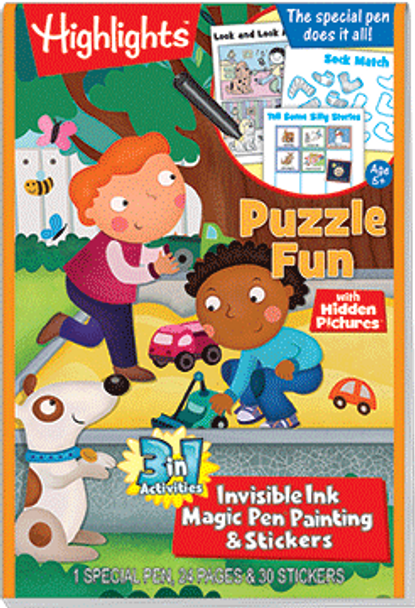 """3in1: Highlights™ """"Puzzle Fun"""""""