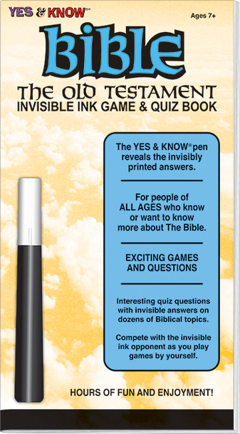 """Invisible Ink: Yes & Know® Bible """"Old Testament"""""""