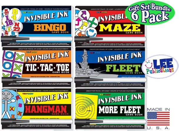 Invisible Ink: Yes & Know® Game - Set of 6 Variety Pack