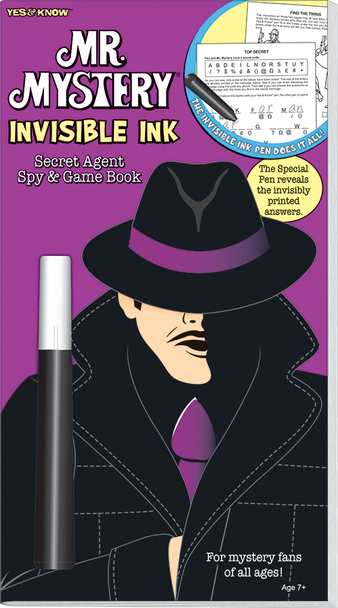 Invisible Ink: Yes & Know® Mr. Mystery
