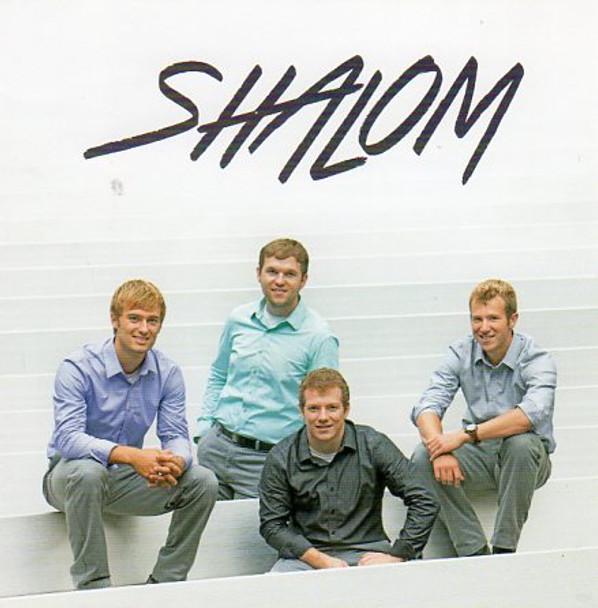 Shalom CD by Men's Quartet